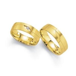 Alianzas de oro amarillo Fischer 061679-6_381679