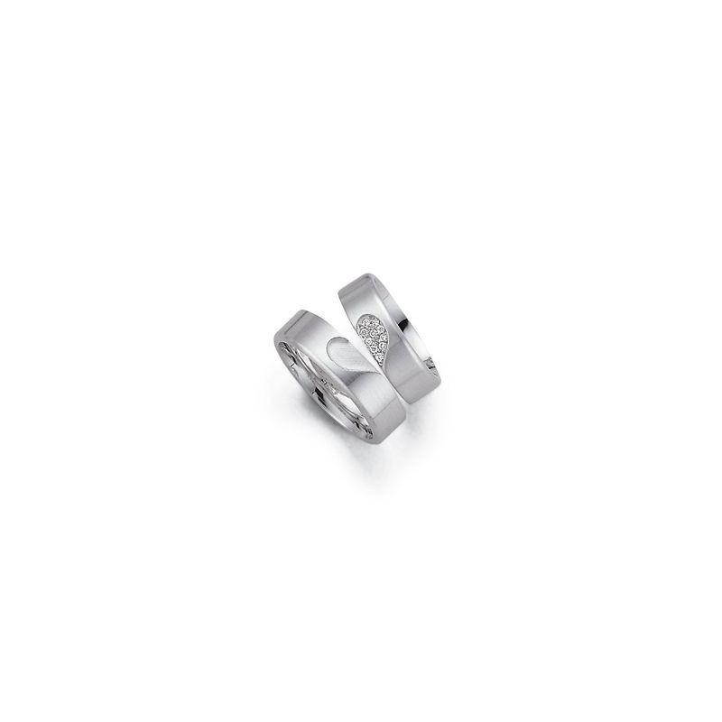 Alianzas de oro blanco Fischer 062491-4_382491