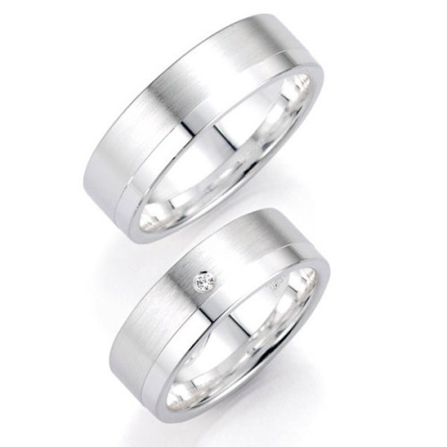 Alianzas de Plata Bruno Banani 91018 91019