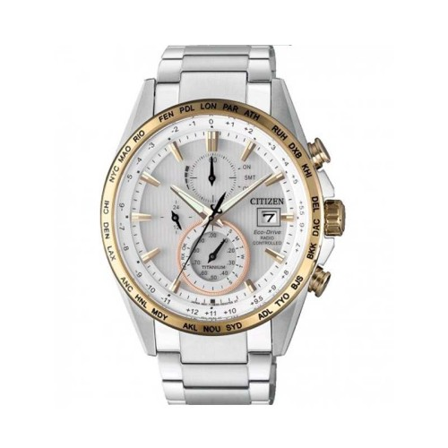 Reloj Citizen Radio Controlado Eco-Drive TI AT-8156-87A