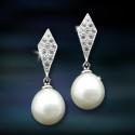 Pendientes de plata y perlas AmaventoCAP001PR