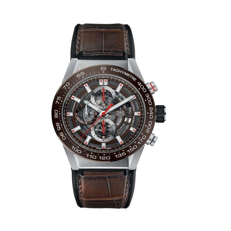 Reloj Tag Heuer Carrera Calibre Heuer 01 Automatic Watch 100 M 43 mm CAR201U.FC6405