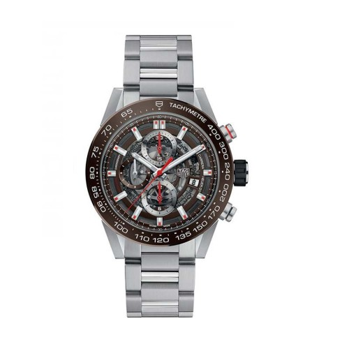 Reloj Tag Heuer Carrera Calibre Heuer 01 Automatic Watch 100 M 43 mm CAR201U.BA0766