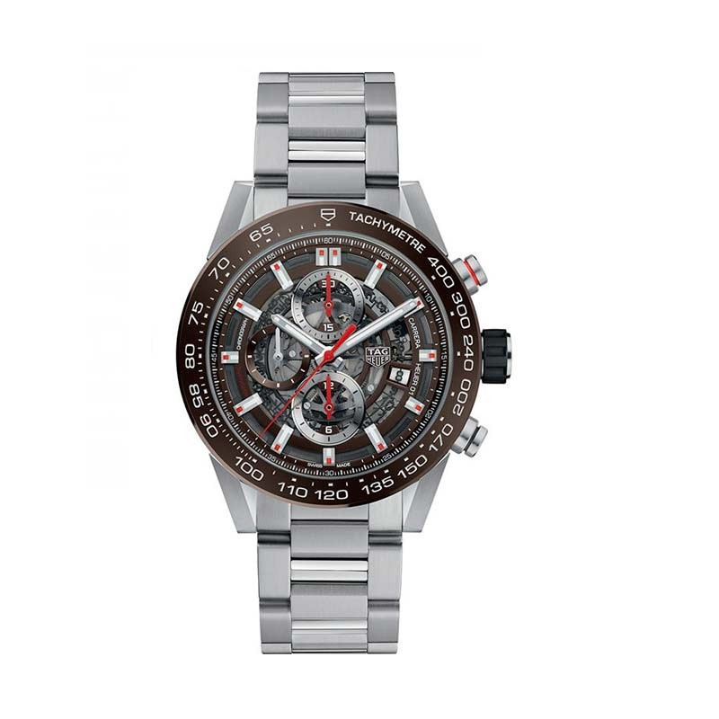 Reloj Tag Heuer Carrera Calibre Heuer 01 Automatic Watch 100 M 43 mm CAR201U.BA0766