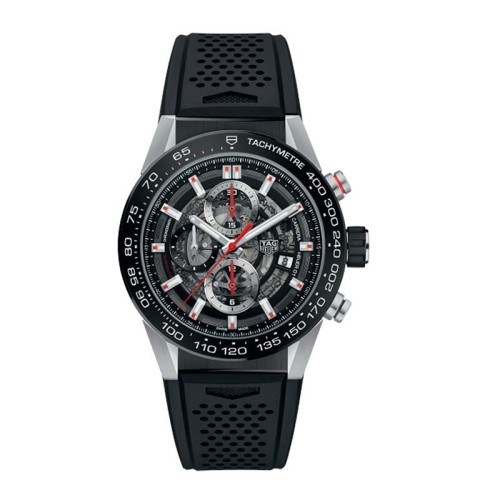 RELOJ TAG HEUER CARRERA CALIBRE HEUER 01 CRONÓGRAFO AUTOMÁTICO 45mm CAR201V.FT6087