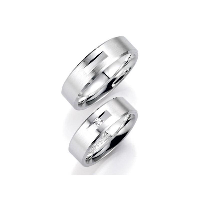 Alianzas de plata Bruno Banani 91020 91021