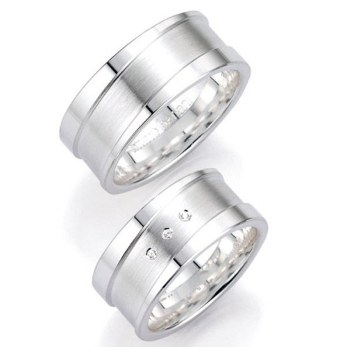 Alianzas de plata Bruno Banani 91022 91023