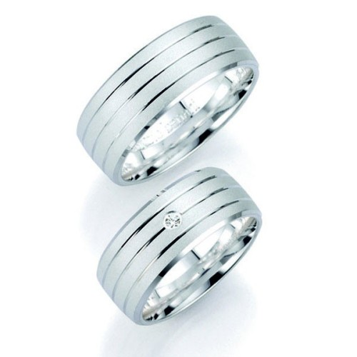 Alianzas de Plata Bruno Banani 91024 91025