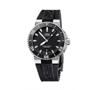Reloj Oris Aquis Date Esfera Negra 43 mm 733 7653 4154