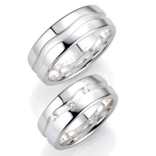 Alianzas de Plata Bruno Banani  91032 91033
