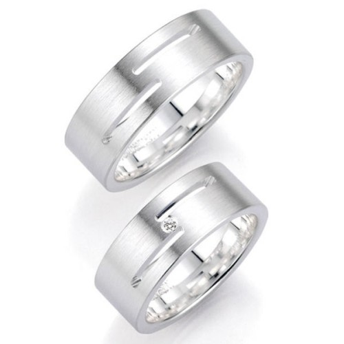 Alianzas de plata Bruno Banani 91038 91039
