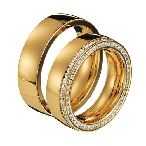 Alianzas de oro amarillo Saint Maurice - Infinity 88030_88130