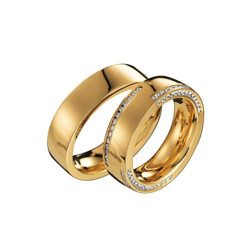 Alianzas de oro amarillo Saint Maurice - Infinity 88038_88138