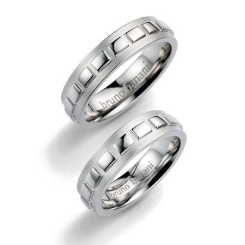 Alianzas de plata Bruno Banani 44_86003