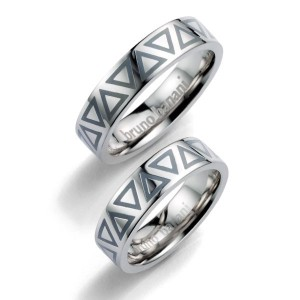Alianzas de plata Bruno Banani 44_86006