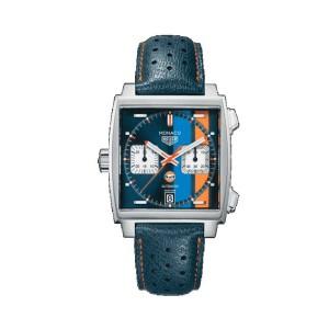 Reloj Tag Heuer Monaco 39 mm Automático Calibre 11 CAW211R.FC6401