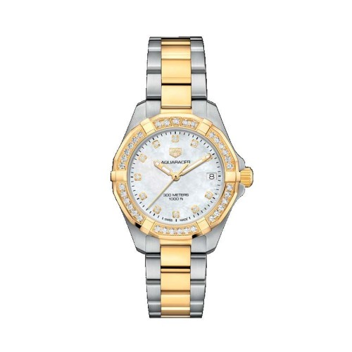 RELOJ TAG HEUER AQUARACER CUARZO LADY 32mm WBD1323.BB0320