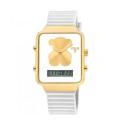 Reloj Tous I-Bear digital de acero caucho 700350145