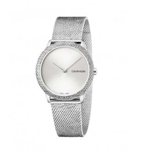 Reloj Calvin Klein Minimal Plata 35mm K3M22T26