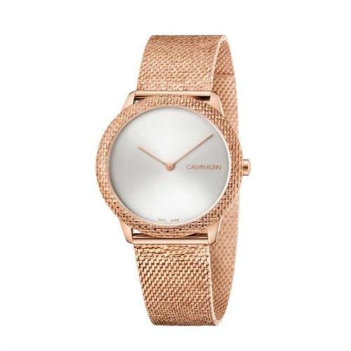 Reloj Calvin Klein Minimal Plata 35mm K3M22U26