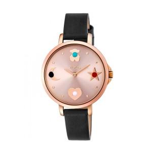 Reloj TOUS Super Power acero rosado y piel 33mm 800350735