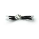 Anillo Compromiso Solitario de oro blanco con diamantes B01101437