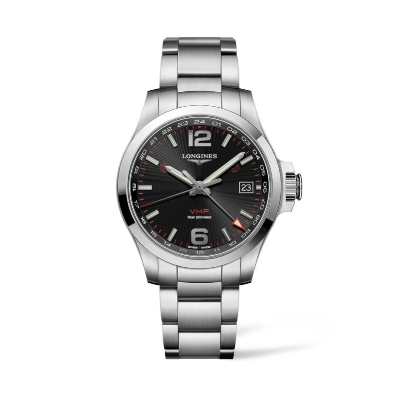 Reloj Longines Conquest VHP GMT 41mm L3.718.4.56.6