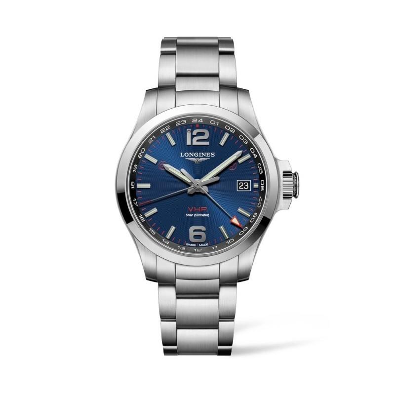 Reloj Longines Conquest VHP GMT 41mm L3.718.4.96.6