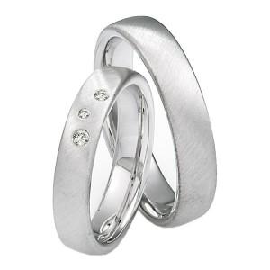 Alianzas de Plata Saint Maurice Silver&Diamonds 91115-91116