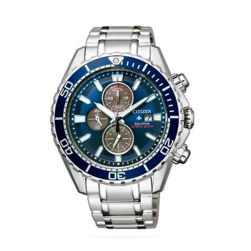Reloj Citizen Diver'S Eco Drive Crono 200 Mt CA0710-82L