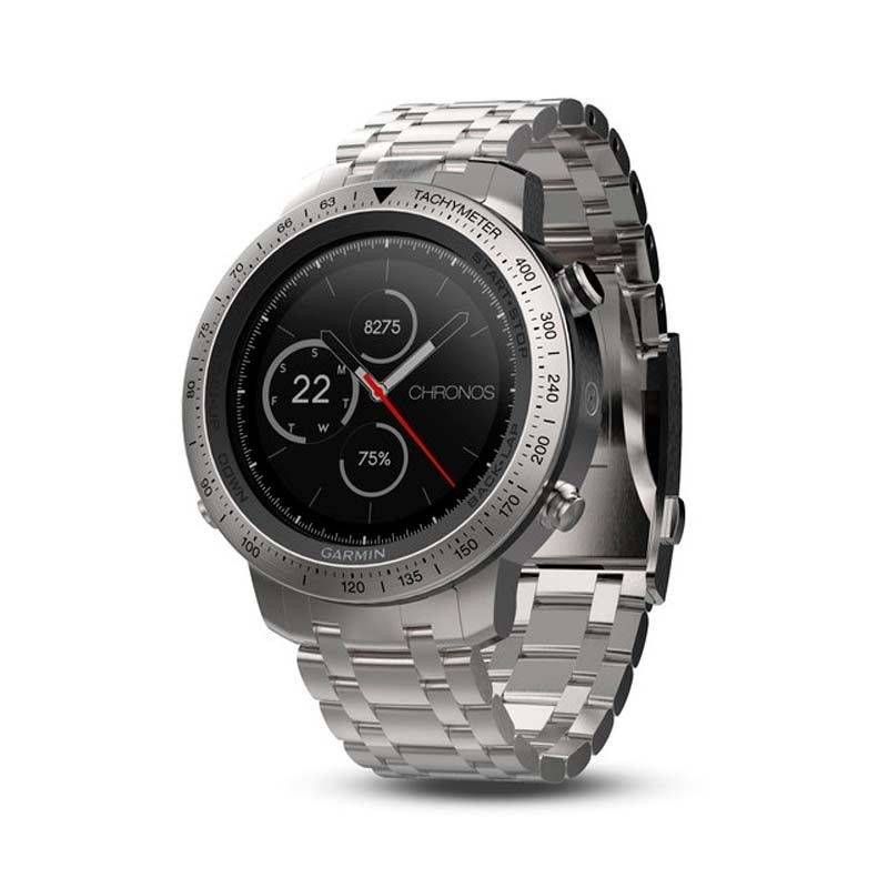 Reloj Garmin FENIX CHRONOS ACERO 010-01957-02