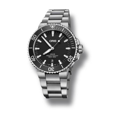 Reloj Oris Aquis para Caballero 43.50mm 01 733 7730 4124-07 8 24 05EB