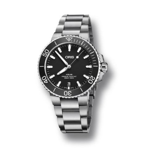 Reloj Oris Aquis para Caballero 39.50mm 01 733 7732 4124-07 8 21 05EB
