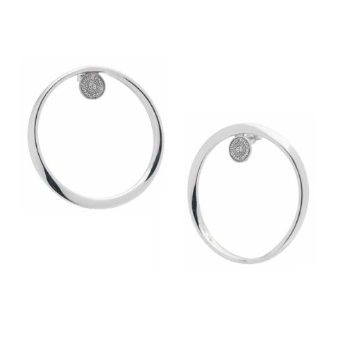 Pendientes Pianegonda plata Circle4Love PNG018O003