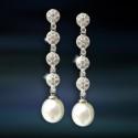 Pendientes de plata con perla AmaventoCAP033PR