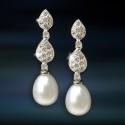 Pendientes de plata con perla Amavento CAP040PR