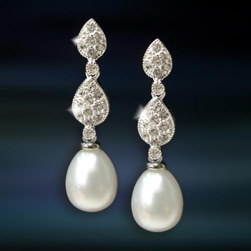 Pendientes de plata con perla AmaventoCAP040PR