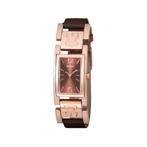Reloj Tous Plate rosado 21mm 800350305