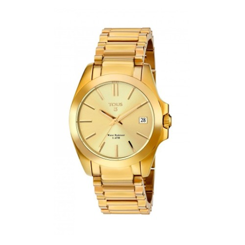 Reloj Tous Drive dorado 34mm 300350585