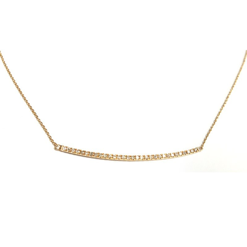 Pendientes niña oro y diamante J01100395