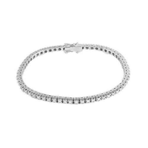 Pulsera oro blanco y diamantes 517979