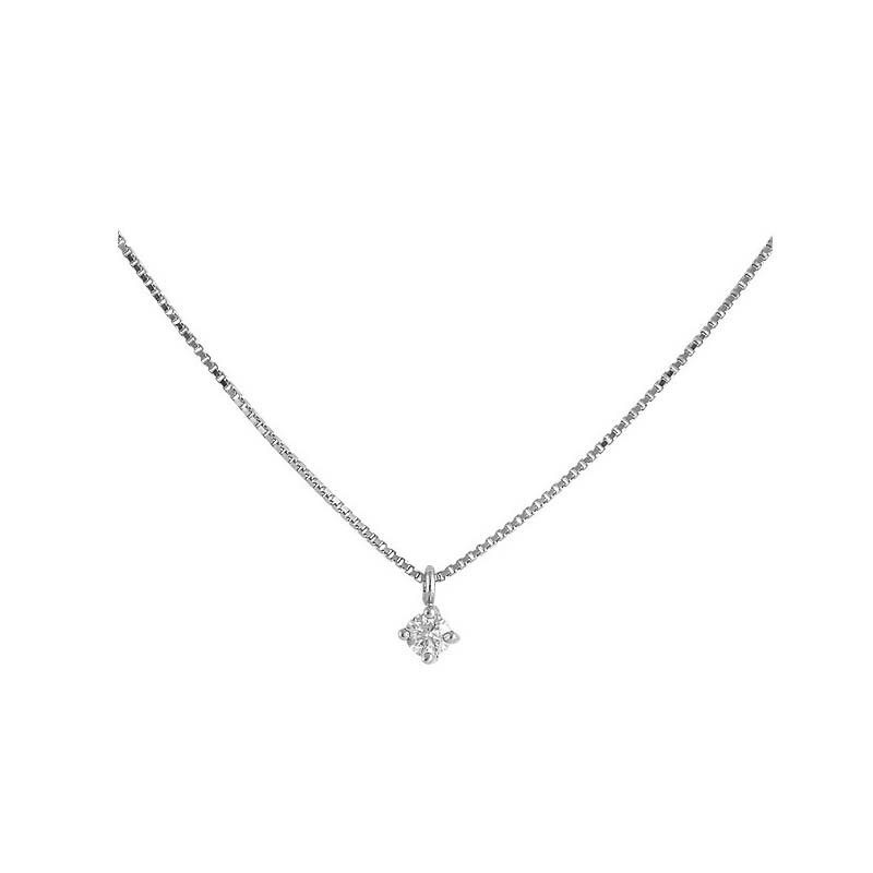 Colgante oro blanco y diamantes 486969
