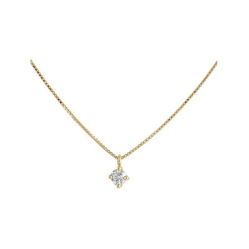 Colgante oro amarillo y diamante 487009