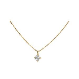 Colgante oro amarillo y diamante 499202
