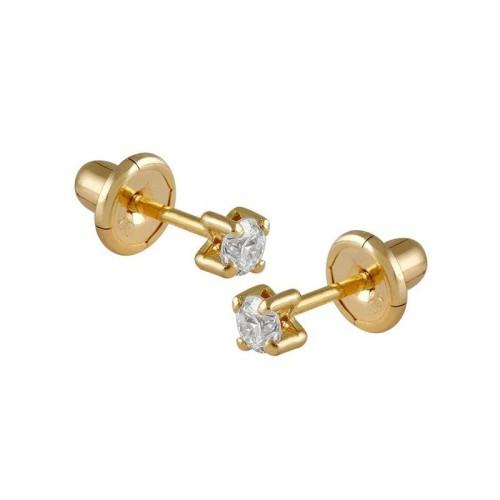 Pendientes oro amarillo y diamantes 496042