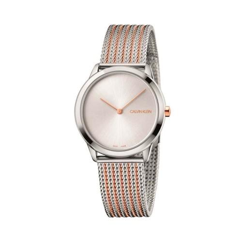 Reloj Calvin Klein Minimal Plata 35mm K3M22B26