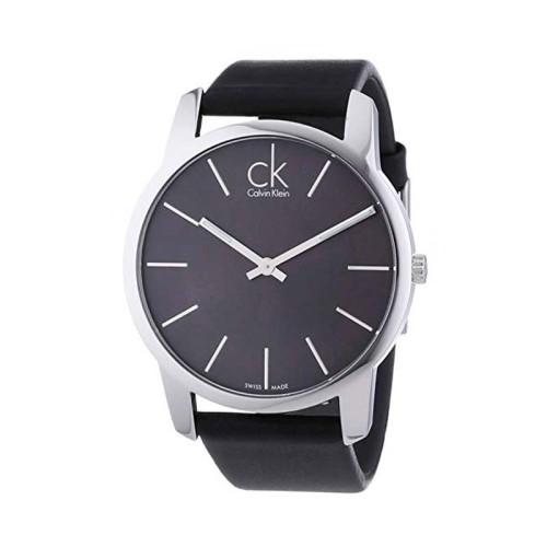 Reloj Calvin Klein City Plata 43mm K2G21107