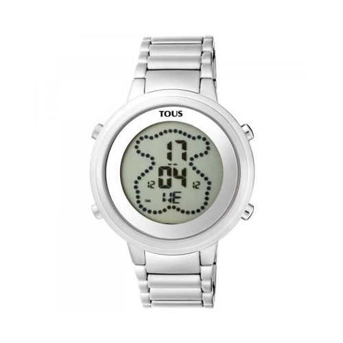 Reloj Tous digital Digibear de acero 900350025