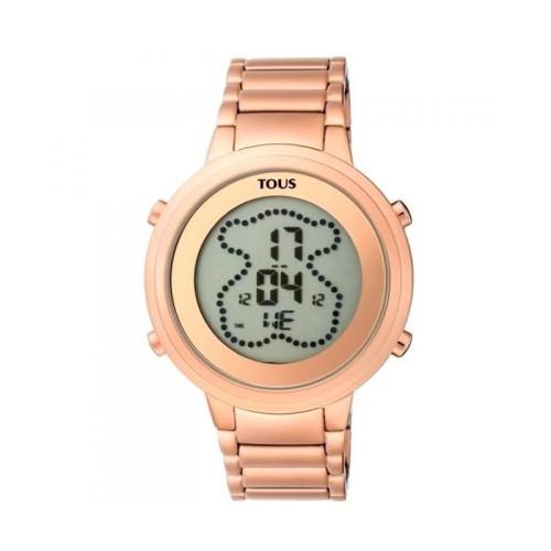 Reloj Tous digital Digibear rosado 900350045