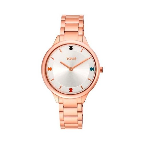 Reloj Tartan de acero IP rosado 900350105